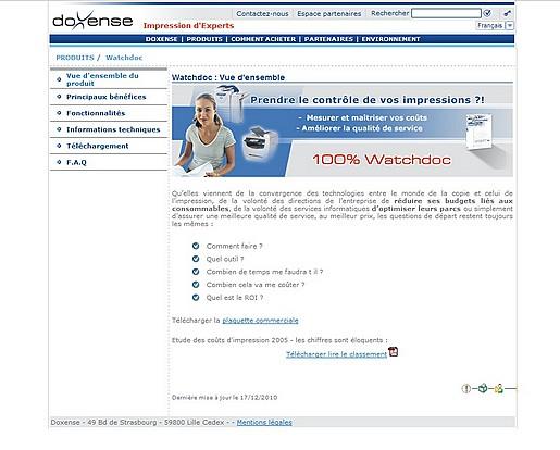 Site Web Doxense
